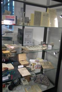 Kill or Cure display at Strathearn Community Campus.